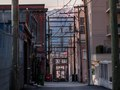 Back alley vistas - Vancouver