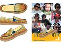 Shoe and Ad designs for Sanuk