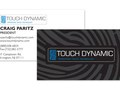 Business Cards for Touch Dynamic (with Spot UV)