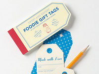 Foodie Tags for Anthropologie