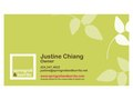 Springroll &amp; Burrito Business Card