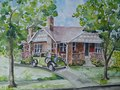 2016 Commissioned House Painting in Watercolor