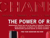 Newsletters created for CHANEL.com