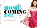 ROLE: Creative Direction / Design Homecoming web campaign