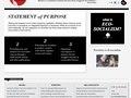Website Creative Concept & Design / ecosocialisthorizons.org