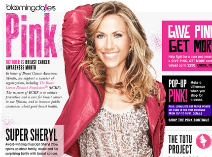 ROLE: Creative Direction / DesignPink Page for Breast Cancer Awareness Month