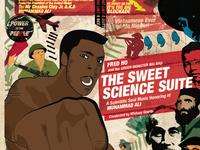 ROLE: Art Concept + Graphic Designer + Illustrator  // CD design : Sweet Science Suite
