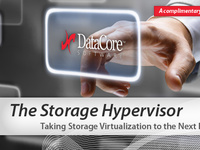 An email for Datacore that was included as part of a multi-touch campaign