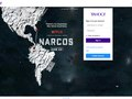 Netflix's Narcos on Yahoo Sign In