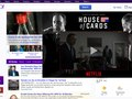 Netflix's House of Cards Takeover on Yahoo Homepage
