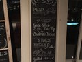 Handwritten Wedding Menu Chalkboard
