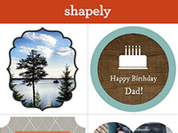 Shapely - The Creativity App for iPhone