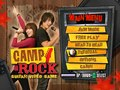 Disney - Camp Rock ( Background art and UI )
