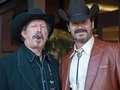 Kinky Friedman and Mitchel Rad, Photo ©Cyndy Allard