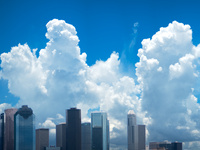 Houston Cumulonimbus Skyline, 2012 ©Cyndy Allard