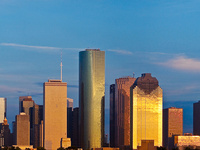 Golden Houston Skyline 2012, ©Cyndy Allard