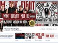 Facebook Timeline branding for Throw the Fight