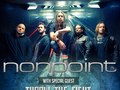 Nonpoint / Throw The Fight tour admat for Bullet Tooth and Razor & Tie Records