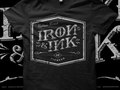 Merchandise design for Iron and Ink Fitness