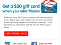 Refer a Friend lead gen email