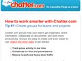 Chatter.com lead gen email to increase adoption