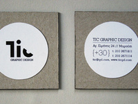 Personal project about a fictional graphic studio named Tic. Link: http://www.behance.net/gallery/Tic-Branding-Design/5108467