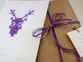 Christmas Cards of paper and wool! http://www.behance.net/gallery/Christmas-Cards-Icons-Pattern-and-Packaging-design/6448939