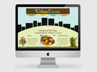 Urban Farms - Website Design