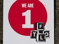 FTLO EXPOSURE Ltd Ed screenprint signed by artist, Title: We Are 1, Artist: Ivor Noyek, PRICE: 20 (Edition of 20)