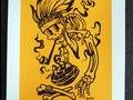 FTLO PROGRESS Ltd Ed screenprint, Artist: Danleo, PRICE: €50 (Edition of 20)