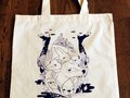 FTLO Tote bag. Artist: Gaetan Billault PRICE: 10