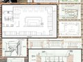 Plain Spoken Restaurant - Schematic Design Boards
