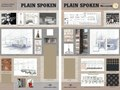 Plain Spoken Restaurant - Final Design Boards