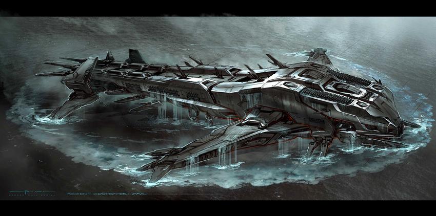 The Battleship Concept Arts CG Daily News