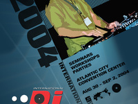 DJ Expo postcard (design)