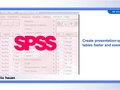 Script, SPSS (now IBM): Presentation used as introduction to SPSS Tables product. http://tinyurl.com/mzq77y3