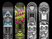 Snowboard Designs & Development