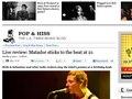 "Los Angeles Times ""Matador sticks to the beat at 21"""
