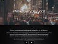 #MakeEveryDayLocal campaign copy