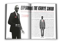 Kanye West Magazine Spread (Student Work)