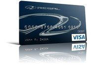 Regal Marine Credit Card Design