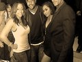 LaTavia Roberson first girl of Desinty Child And Rockmond Dunbar Soulfood serious & Marcus Patrick and friend
