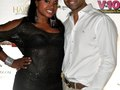 Phaedra Parks and her husband, Apollo  at Rapper T.I. King Private Birthday Party 2012