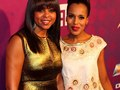 Taraji p. Henson and Kerry Washington at Black Girl Rock's