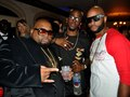 Jazze Pha,Rosco Dash, Vawn at Rapper T.I. King Private Birthday Party