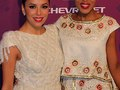 Eva Longoria & Kerry Washington at Black Girl Rock's