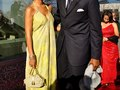 Alonzo and his Lovely Wife Tracy Mourning at the 2013 ANNUAL TRUMPET AWARDS