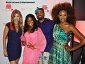 Kari,Toya Bush Harris from Married to Medicine with Luscious and Cynthia Baily