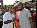 Larenz Tate and Chaka Zulu at Luda Day 2013