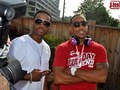 Actor Larenz Tate and Ludacris at Lud day 2013.